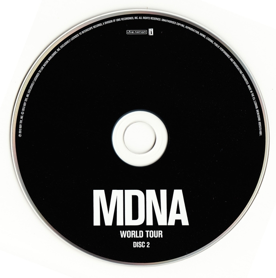 mdna world tour cd2