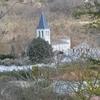 VALEILLES vue en arrivant de Roquecor