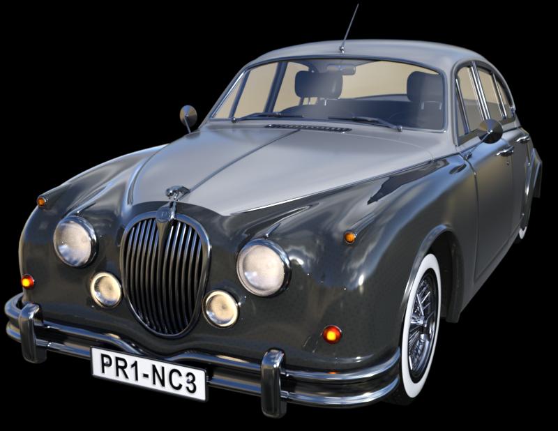 Tube de voiture de prestige (image-render)
