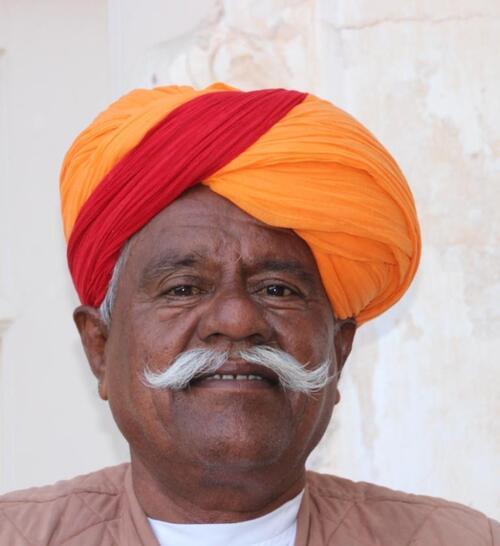 Moustaches et turbans au Rajasthan