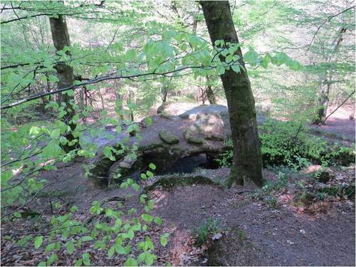 A la découverte de la grotte de l'Ermitage  ( JURA )