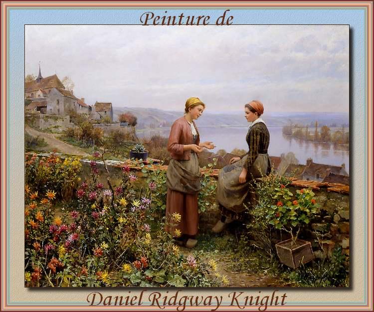 Peinture de : Daniel Ridway Knight