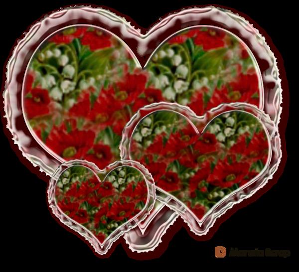 Coeurs fleurs page 3
