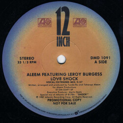 Aleem Feat. Leroy Burgess - Love Shock