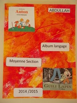 Nos couvertures du cahier album langage (suite)