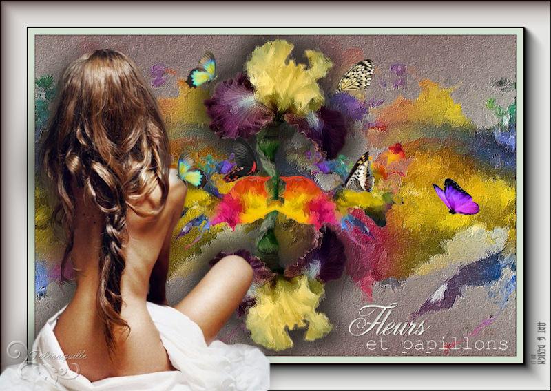 *** Flores e Borboletas ***