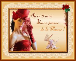 Cartes Journée de la femme