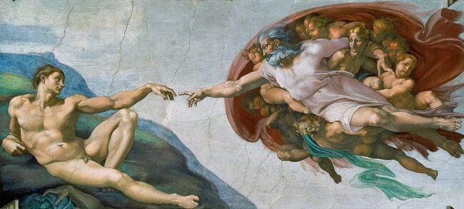 Portrait De  Michelangelo Buonarroti...  Dit En Français Michel-Ange...