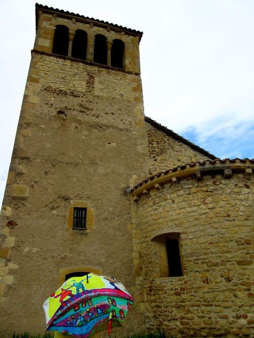 Parapluies en Saône et Loire