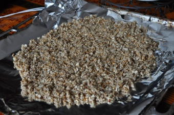 Granola au sirop d'érable et pépites de chocolat