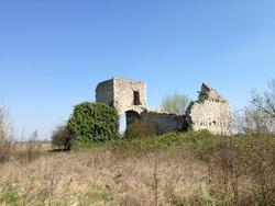 Ruines près de Mer dans le Loiret
