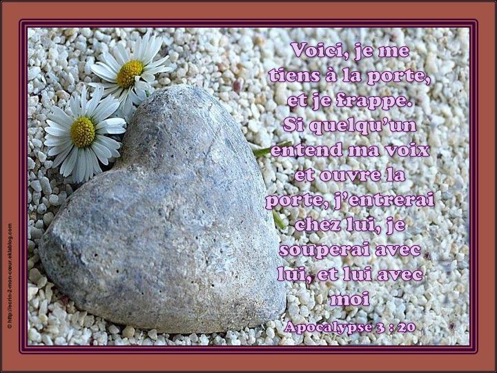 Ronde Versets du coeur 30