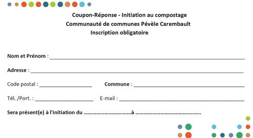 Initiation au compostage