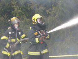 Galerie photos entrainement des pompiers