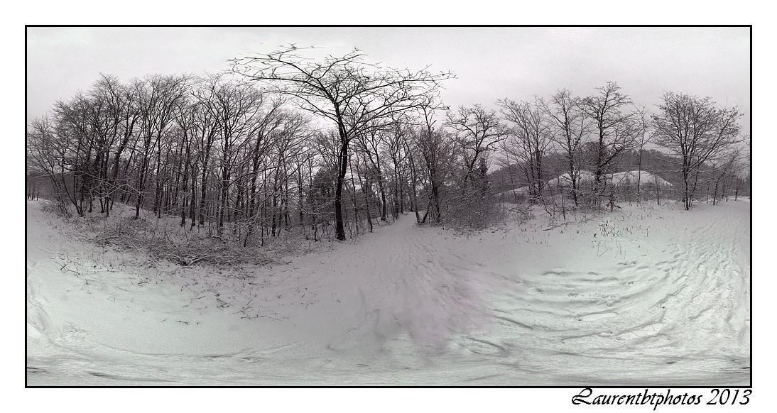 La neige ne cesse de tomber...