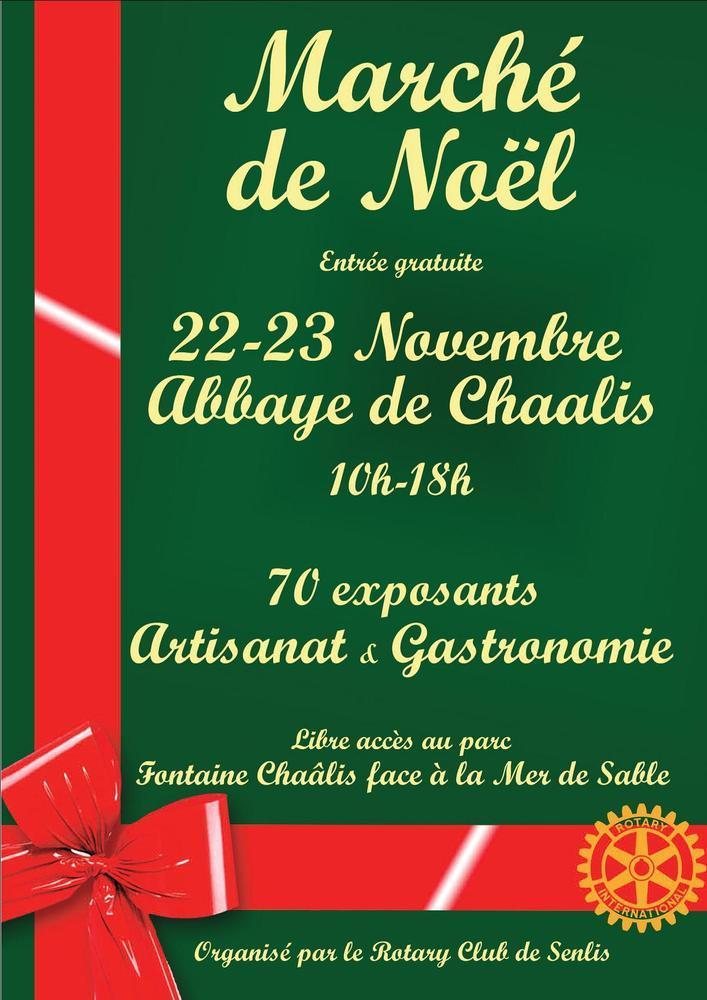 Le marché de Noël de l'Abbaye de Chaalis...