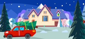 Jouer à Christmas tree rescue