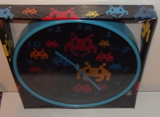 Divers horloge space invaders 02
