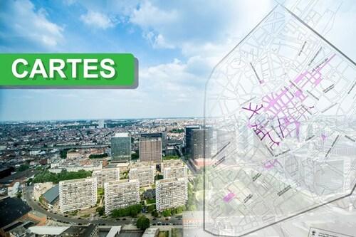Bruxelles, bientôt la capitale avec la plus grande zone piétonne d'Europe !?! (cartes)