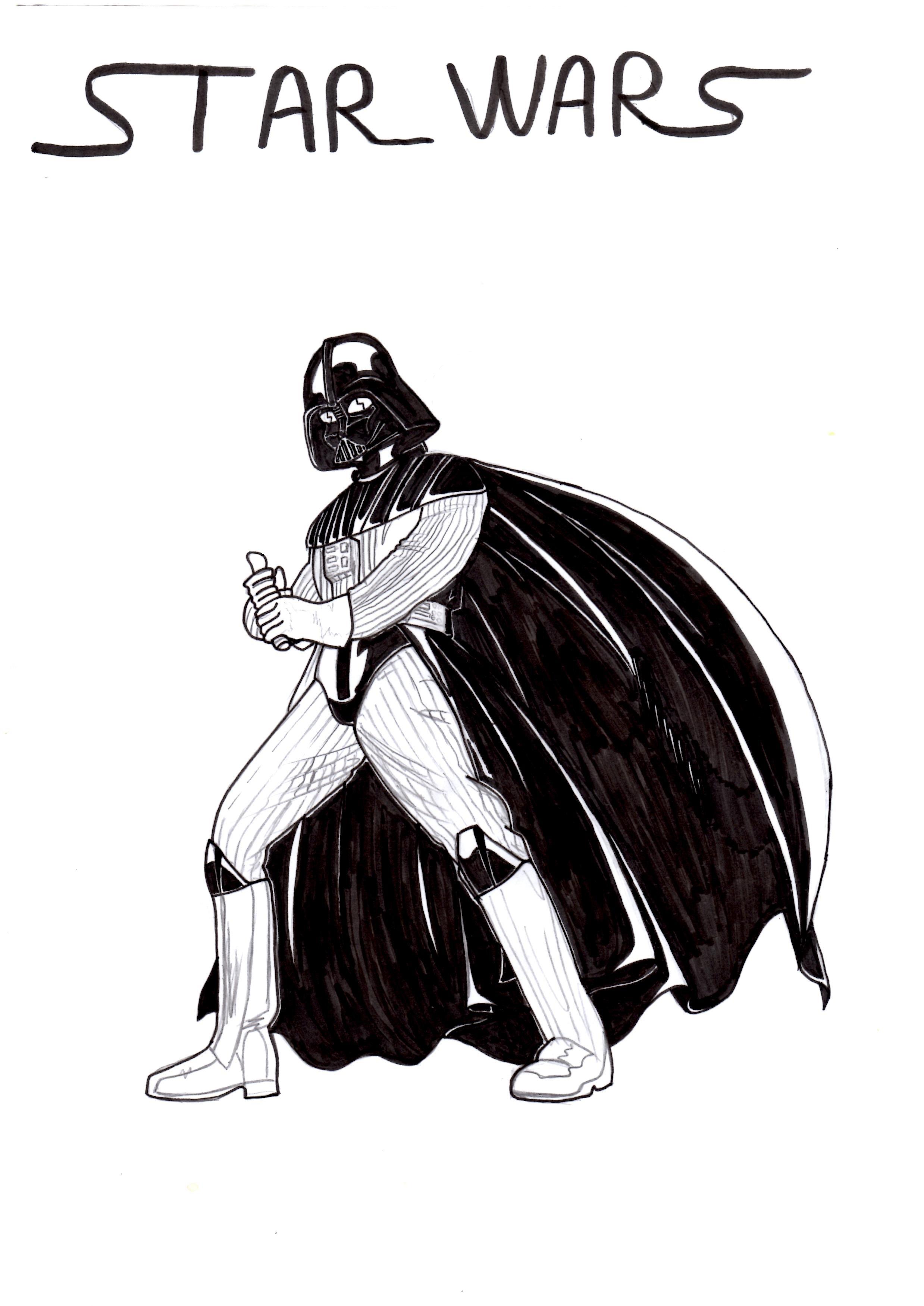 Dark Vador Espace Manga