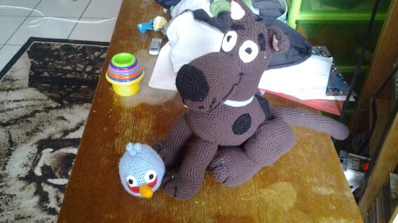 Les dernièrs doudou et un autre tricot pour mon fils ^-^