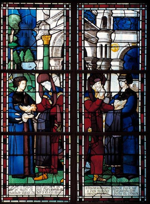 Miracle Eucharistique Paris, Les Billettes, 1290