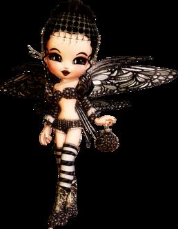 Cookies Noires, papillon