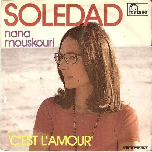 Nana Mouskouri - Soledad (1974)