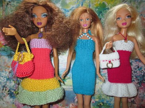 Sacs à main pour barbie