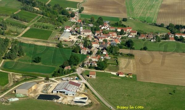 Le Châtillonnais vu du ciel : le canton de Montigny sur Aube