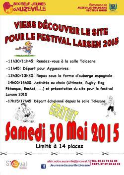 ALSH Ados d'Auzeville : sortie découverte festival Larsen