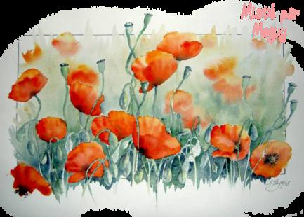 Fleurs mistées page 1