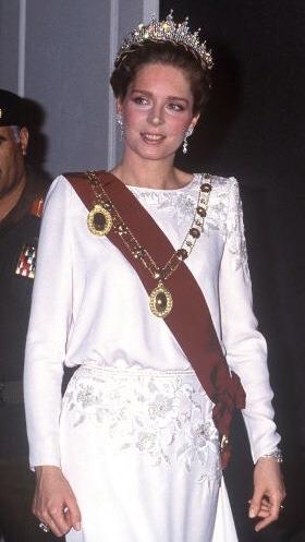 Noor de Jordanie en 1984