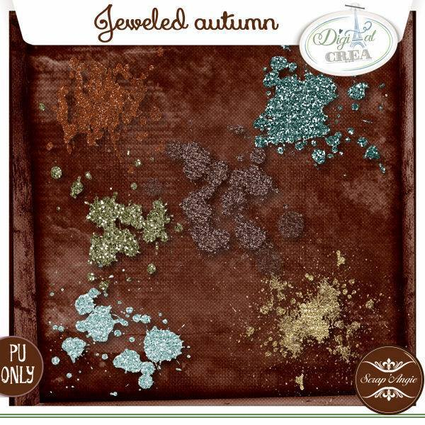 Jeweled Autumn by Scrap'Angie