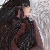 Un Corbeau en Hiver