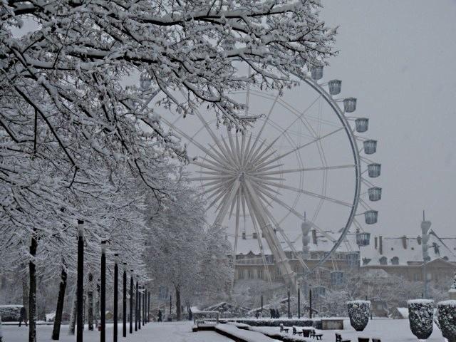 Marchés de Noël 2010 sous la neige 1 mp1357 - 19