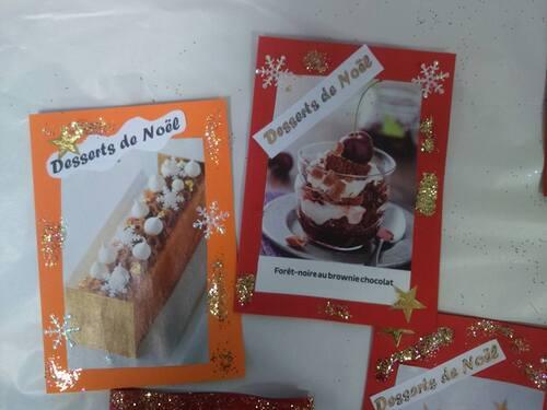 Carnets de recettes de Noël