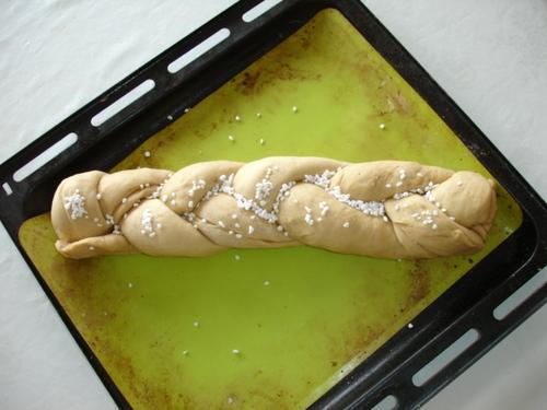 Gâche Vendéenne avant la levée de la pâte