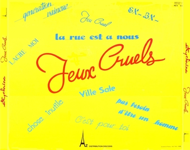 Frenchy but Chic # 70: Strychnine - Jeux cruels (1979)
