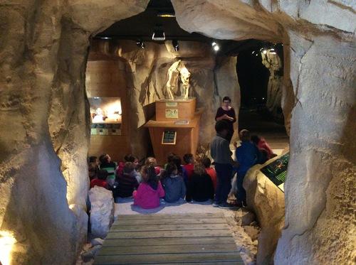 Superbe journee au musée de l'ours des cavernes