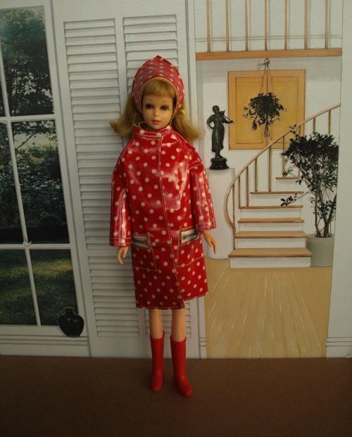 Barbie vintage : Francie - Polka Dots 'n Raindrops