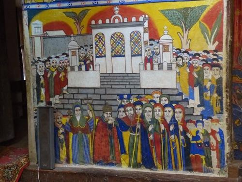 les peintures de la cathédrale d'Aksoum; suite et fin;