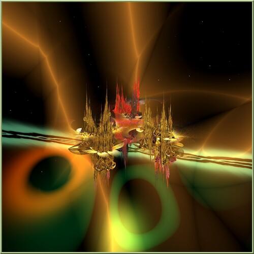 Mondes étranges N 107 Fractale Incendia