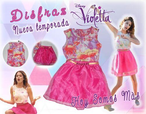 """Robe exclusif de Violetta """"HOY SOMOS MAS"""""""