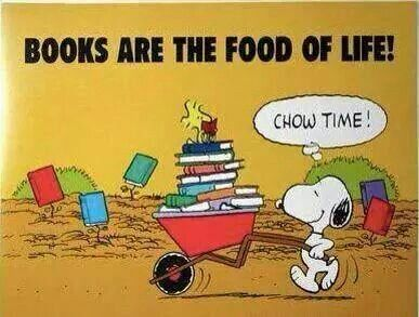 Books are the food of life!: