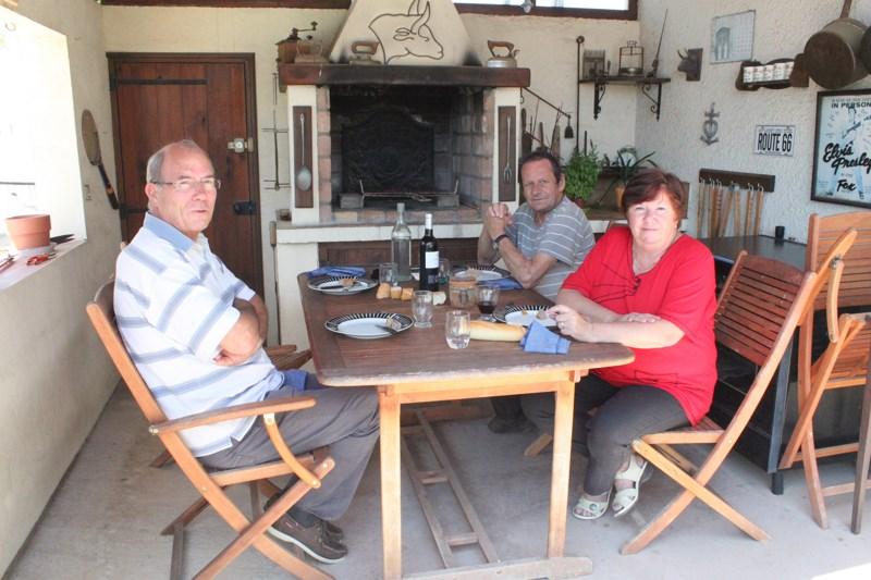 762 - Virée vers le Lubéron... Sur la route... et une autre rencontre !