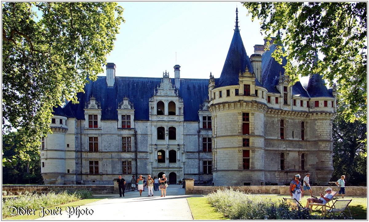 (37) Indre et Loire - Azay le Rideau (1) - Château d'Azay le Rideau