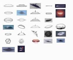 Ovnis, images et formes