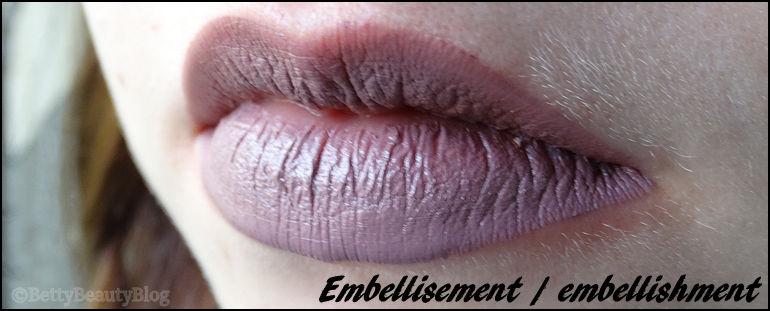 Mes rouges à lèvres Lingerie de NYX (swatchs)