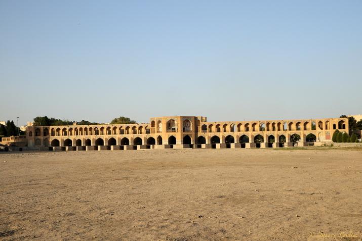 Le pont Khadju, Ispahan